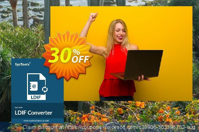 SysTools LDIF Converter (Enterprise License) discount 30% OFF, 2021 New Year offering discount