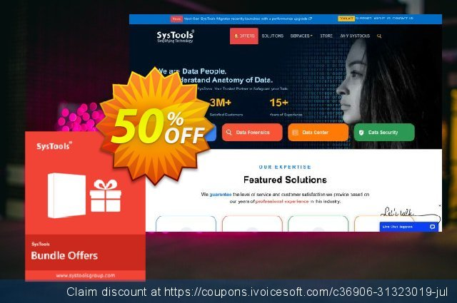 Bundle Offer - SysTools PST Merge + Outlook Recovery + PST Password Remover + PST Converter + Split PST + Outlook Duplicate Remover 惊人 优惠 软件截图