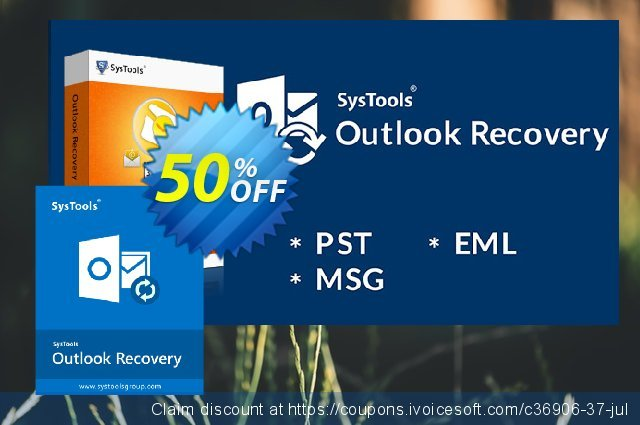 SysTools Outlook Recovery discount 30% OFF, 2020 New Year's Weekend sales