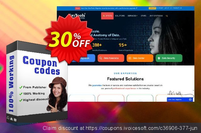 SysTools EML to NSF Converter discount 30% OFF, 2019 Thanksgiving promo sales