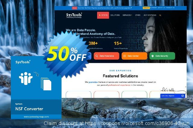 SysTools NSF Converter (Personal License) discount 50% OFF, 2020 Happy New Year offering deals