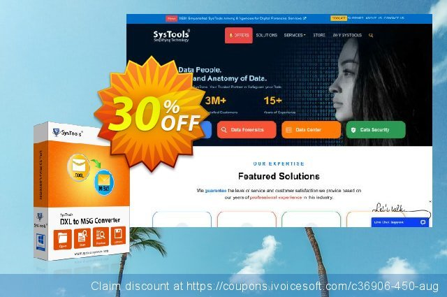 SysTools DXL to MSG Converter (Academic) discount 20% OFF, 2020 American Independence Day sales
