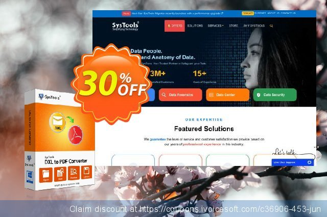 SysTools DXL to PDF Converter discount 20% OFF, 2020 Summer discount