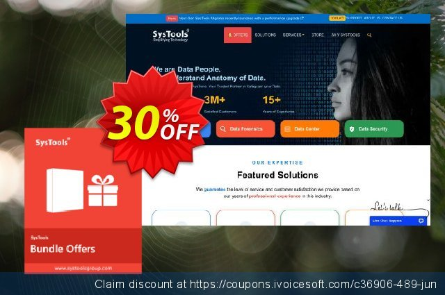 Bundle Offer - WAB Converter + WAB Recovery (Enterprise License) discount 30% OFF, 2021 Flag Day sales. SysTools coupon 36906