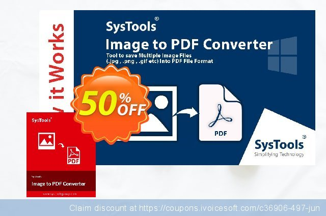 SysTools Image to PDF Converter (Business)  서늘해요   할인  스크린 샷
