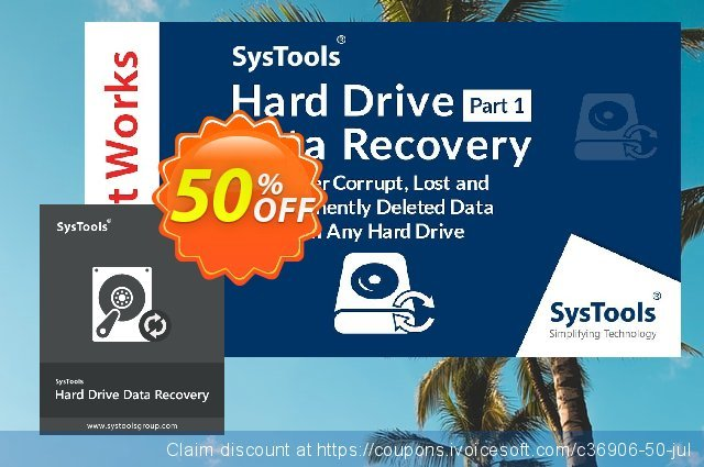SysTools Hard Drive Data Recovery (Business) 特殊 产品销售 软件截图