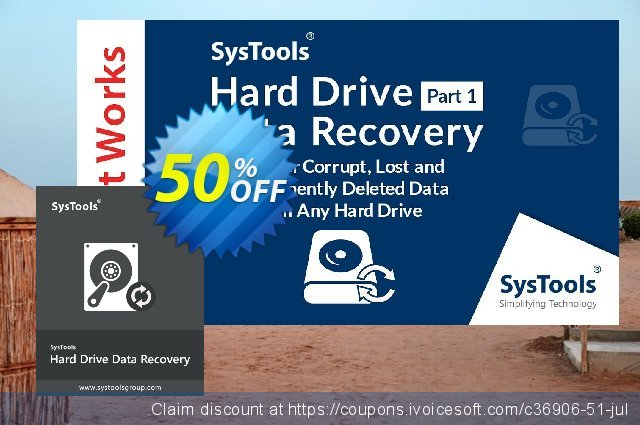 SysTools Hard Drive Data Recovery (Enterprise)  굉장한   제공  스크린 샷