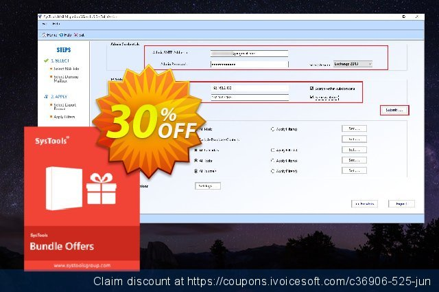 Bundle Offer - Mail Migration Wizard + Lotus Notes Emails to Exchange Archive (Business License) 令人惊奇的 产品销售 软件截图