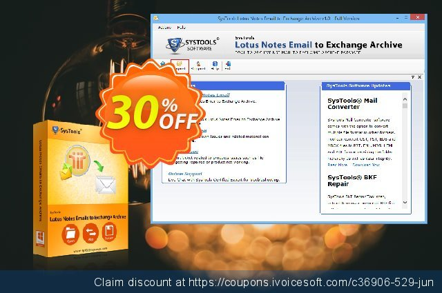 Lotus Notes Emails to Exchange Archive - Site License discount 20% OFF, 2020 July 4th discount