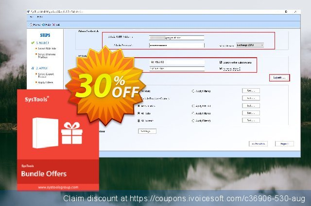 Bundle Offer - Lotus Notes Emails to Exchange Archive + Export Lotus Notes discount 30% OFF, 2020 Back to School deals offering sales