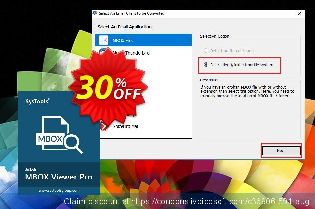 MBOX Viewer Pro (25 User License) discount 20% OFF, 2020 Fourth of July promo