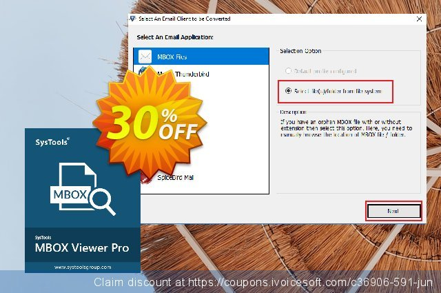 MBOX Viewer Pro (25 User License) discount 20% OFF, 2019 End year offering sales