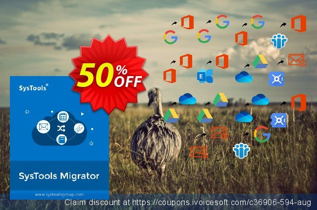 SysTools Office365 Express Migrator 美妙的 优惠 软件截图