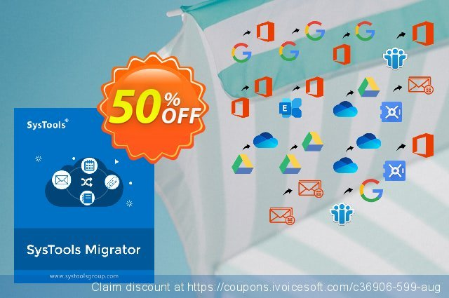SysTools Migrator (Office 365 to Office 365) 激动的 促销销售 软件截图