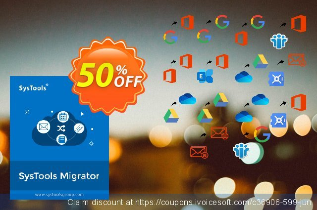 SysTools Migrator (Office 365 to Office 365) 대단하다  할인  스크린 샷