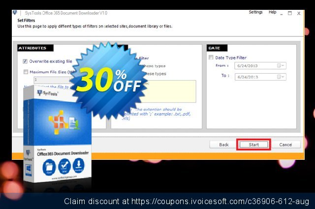 SysTools Office 365 Document Downloader (50 Users)  최고의   가격을 제시하다  스크린 샷