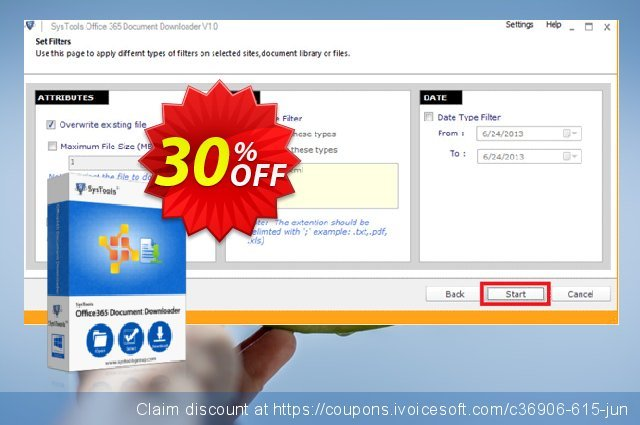 SysTools Office 365 Document Downloader (500 Users)  서늘해요   프로모션  스크린 샷