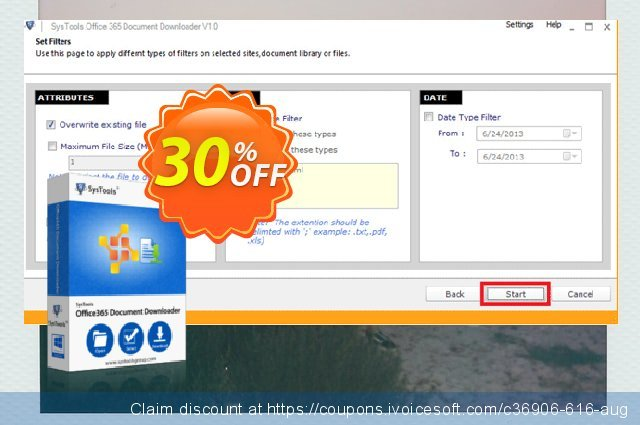 SysTools Office 365 Document Downloader (1000 Users) discount 30% OFF, 2020 Christmas Day sales