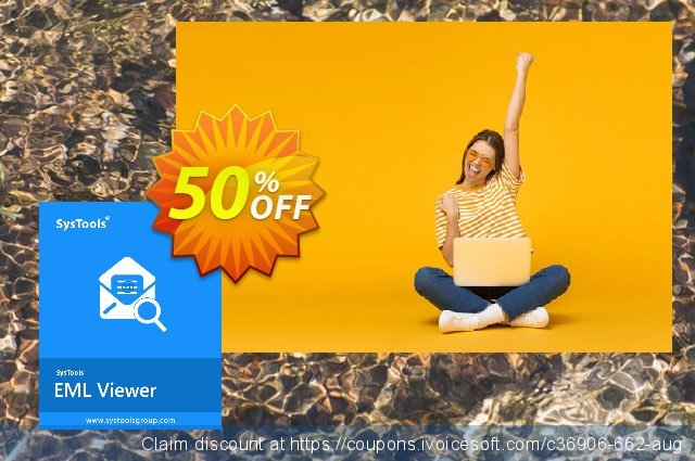 SysTools EML Viewer Pro (50 Users) discount 50% OFF, 2020 Working Day deals