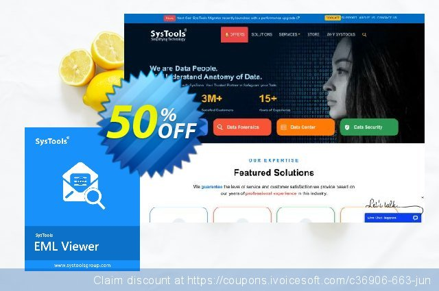 SysTools EML Viewer Pro (25 Users) discount 50% OFF, 2021 Happy New Year discounts