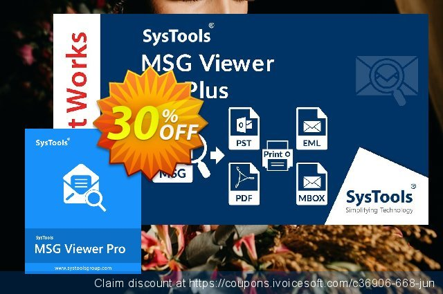 SysTool MSG Viewer Pro (10 Users)  신기한   가격을 제시하다  스크린 샷
