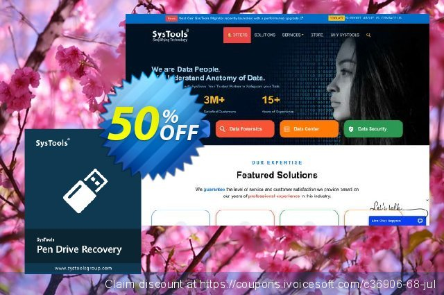 SysTools Pen Drive Recovery -  Business License  대단하   할인  스크린 샷