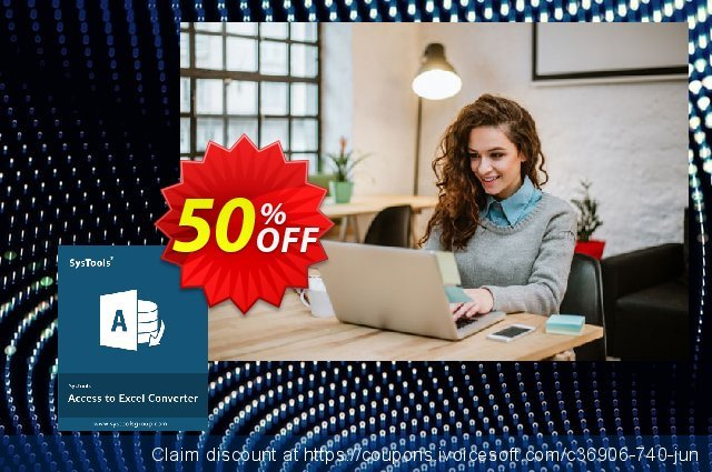 SysTools Access to Excel discount 30% OFF, 2019 Thanksgiving offering sales