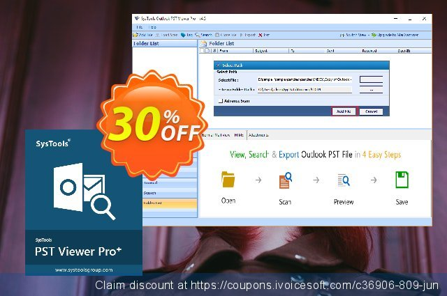 SysTools PST Viewer Pro+ Plus (100 User License) discount 30% OFF, 2021 Emoji Day discounts. SysTools coupon 36906