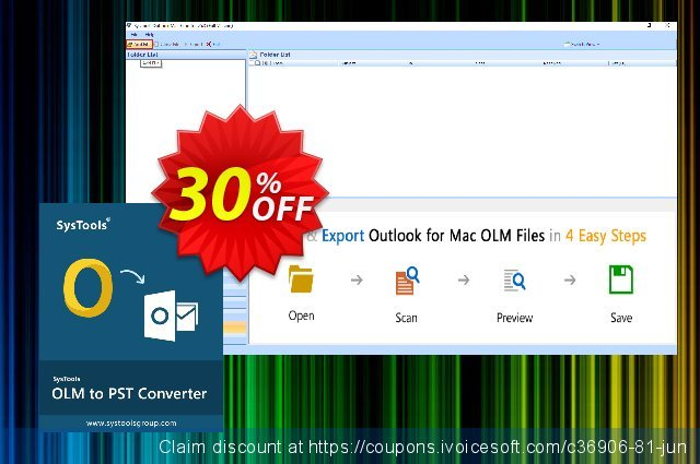 SysTools Outlook Mac OLM Recovery  경이로운   가격을 제시하다  스크린 샷