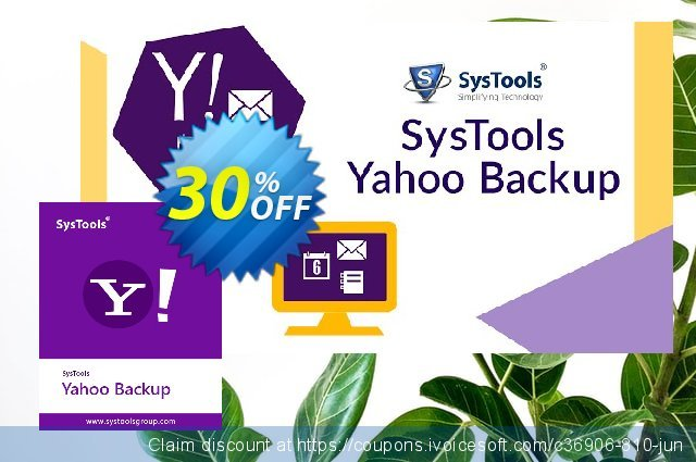 SysTools Yahoo Backup Single Account 惊人的 产品销售 软件截图