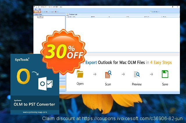 SysTools OLM to PST Converter discount 20% OFF, 2020 4th of July offering sales