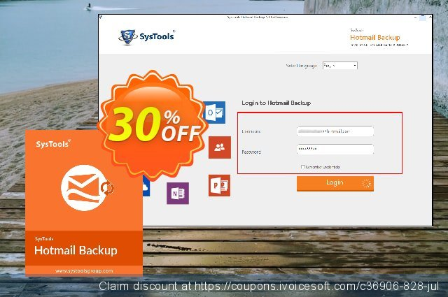 Systools Hotmail Backup discount 30% OFF, 2019 Halloween deals
