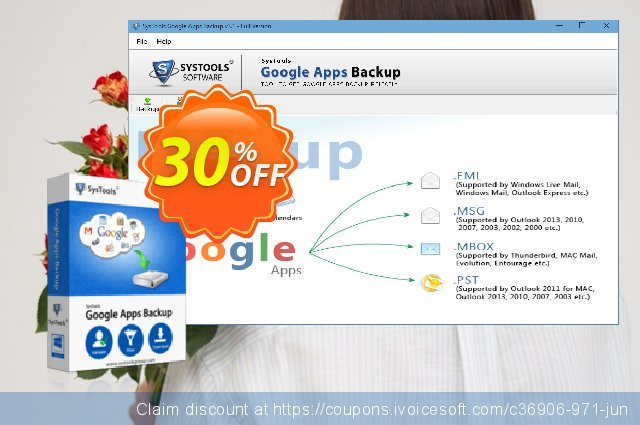Google Apps Backup - 50 Users License discount 20% OFF, 2020 Fourth of July promo