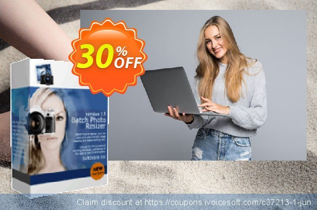 Get 30% OFF Batch Picture Resizer offering sales