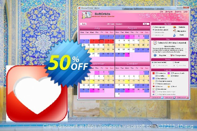 Advanced Woman Calendar discount 50% OFF, 2021 Working Day offering sales. 30% Discount