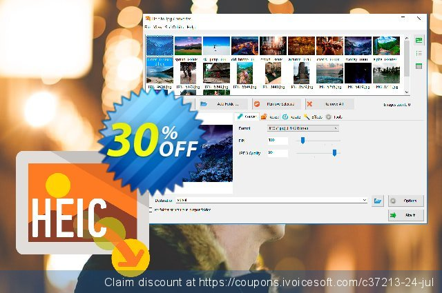 SoftOrbits HEIC to JPG Converter discount 30% OFF, 2020 April Fools' Day offering sales