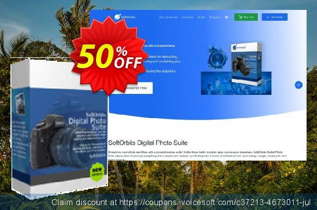 SoftOrbits Digital Photo Suite - Business License discount 50% OFF, 2020 Halloween deals