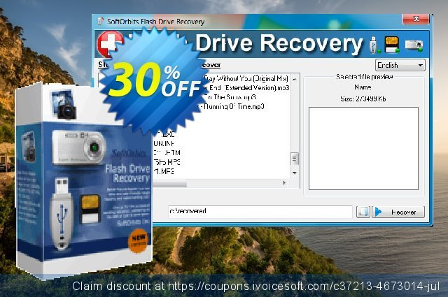 Flash Drive Recovery - Business License  경이로운   제공  스크린 샷