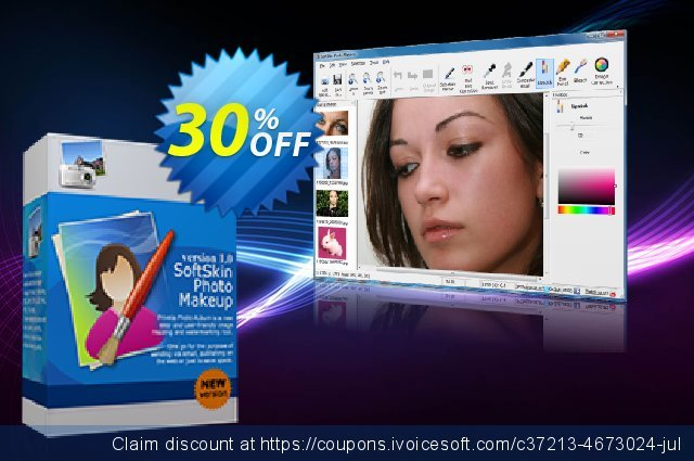 SoftSkin Photo Makeup - Business License discount 30% OFF, 2021 New Year's Day offering sales