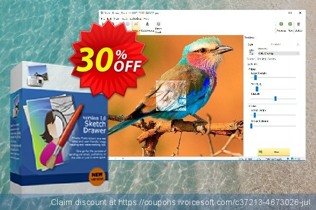 SoftOrbits Sketch Drawer Lite discount 30% OFF, 2021 January promo sales