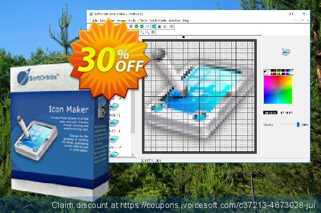 SoftOrbits Icon Maker - Business License discount 30% OFF, 2020 New Year's Weekend offering sales