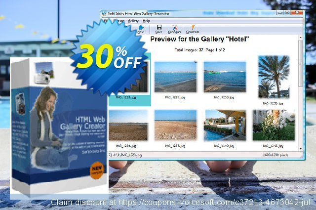 SoftOrbits Html Web Gallery Creator - Business License discount 30% OFF, 2021 New Year's Weekend offering discount