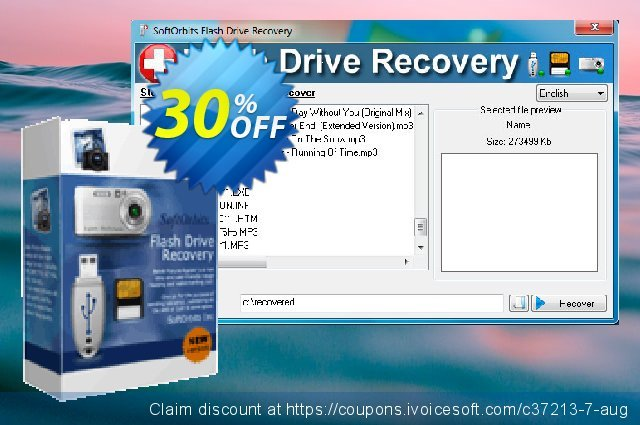SoftOrbits Flash Drive Recovery discount 30% OFF, 2019 Thanksgiving offering sales