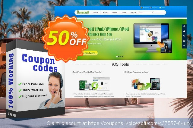 Amacsoft HTML to ePub for Mac discount 50% OFF, 2019 Back to School promotion offering sales