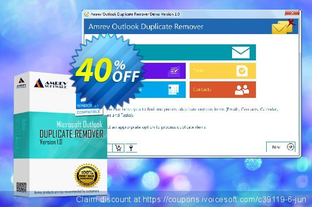 Amrev Outlook Duplicate Remover discount 40% OFF, 2020 April Fools' Day offering deals