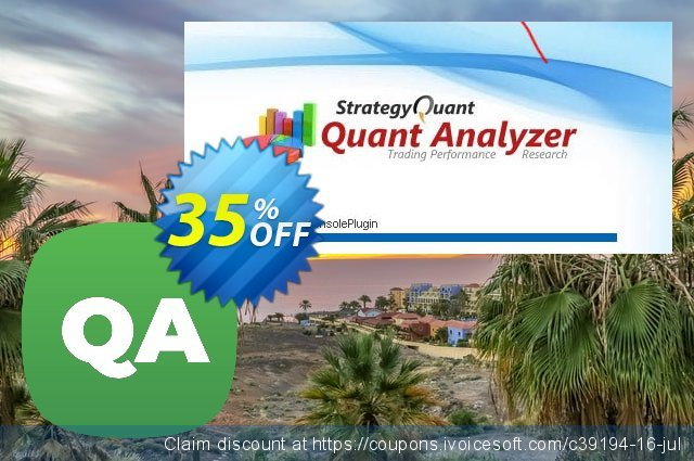 QuantAnalyzer Pro discount 35% OFF, 2020 Halloween offering sales