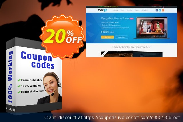 Macgo Mac iPhone Data Recovery discount 20% OFF, 2019 Thanksgiving offering sales