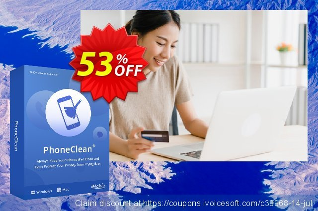 PhoneClean Pro for Mac - family license  최고의   매상  스크린 샷