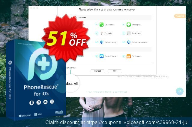 PhoneRescue for Windows discount 20% OFF, 2019 Easter day offer
