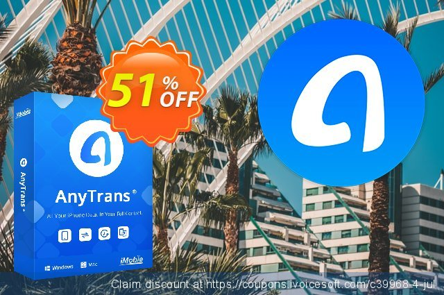 AnyTrans for iOS (lifetime license) 特殊 产品销售 软件截图